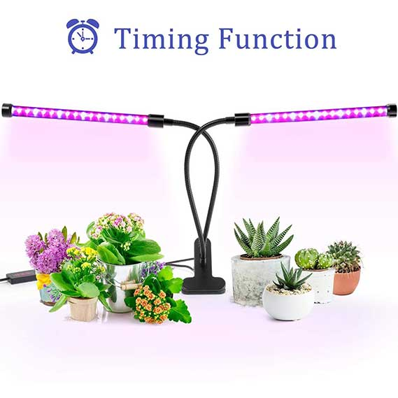 Dimmable Levels Plant Grow Lights for Indoor Plants with Red Blue Spectrum