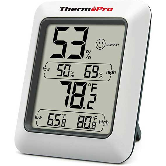 Digital Hygrometer Indoor Thermometer Room Thermometer